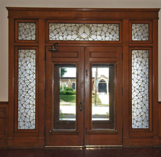 Vestibule door inside & Historic Coleman House :: Photos Pezcame.Com